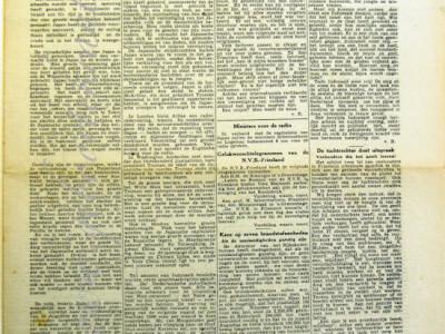 Leeuwarder koerier krant geboortedag als jubileumscadeau