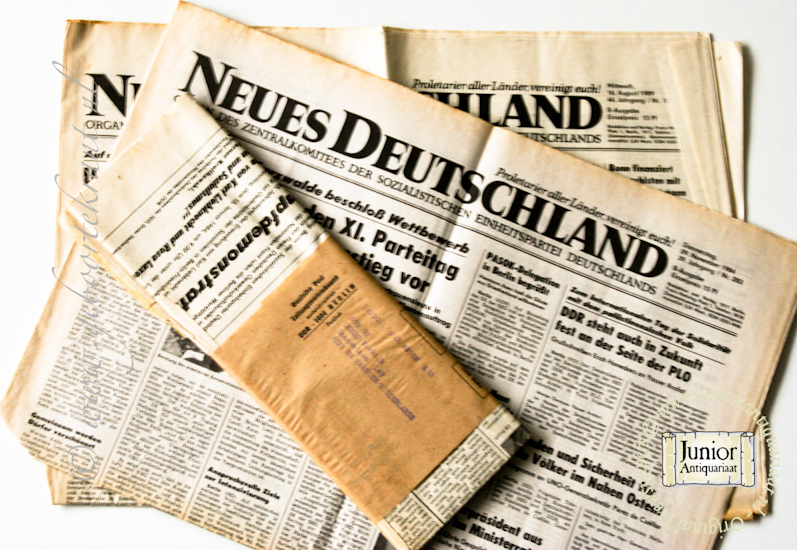 krant geboortedag titel Neues Deutschland