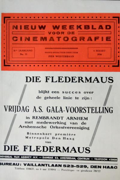 Nieuw weekblad voor de Cinematografie