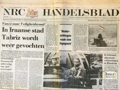 Krant geboortedag  NRC-Handelsblad (05-05-1972)