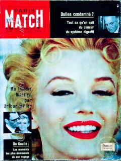 Paris Match krant geboortedag als jubileumscadeau