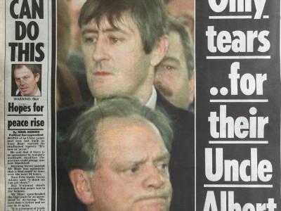 The Mirror krant geboortedag als jubileumscadeau